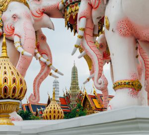 Elephant Monument and Grand Palace Bangkok Palace @ermakova